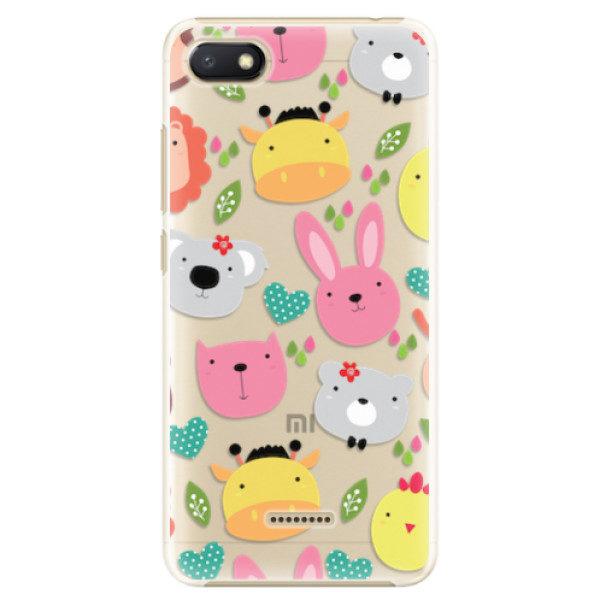 Plastové pouzdro iSaprio – Animals 01 – Xiaomi Redmi 6A Plastové pouzdro iSaprio – Animals 01 – Xiaomi Redmi 6A