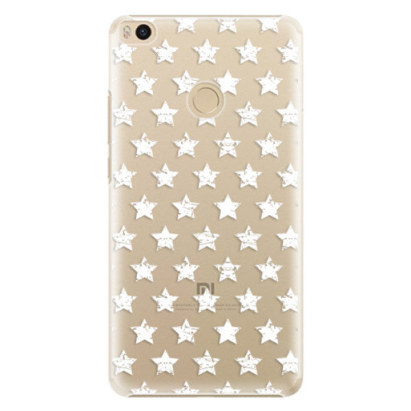 Plastové pouzdro iSaprio – Stars Pattern – white – Xiaomi Mi Max 2 Plastové pouzdro iSaprio – Stars Pattern – white – Xiaomi Mi Max 2