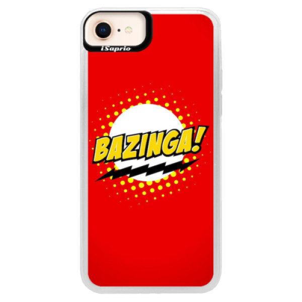 Neonové pouzdro Blue iSaprio – Bazinga 01 – iPhone 8 Neonové pouzdro Blue iSaprio – Bazinga 01 – iPhone 8