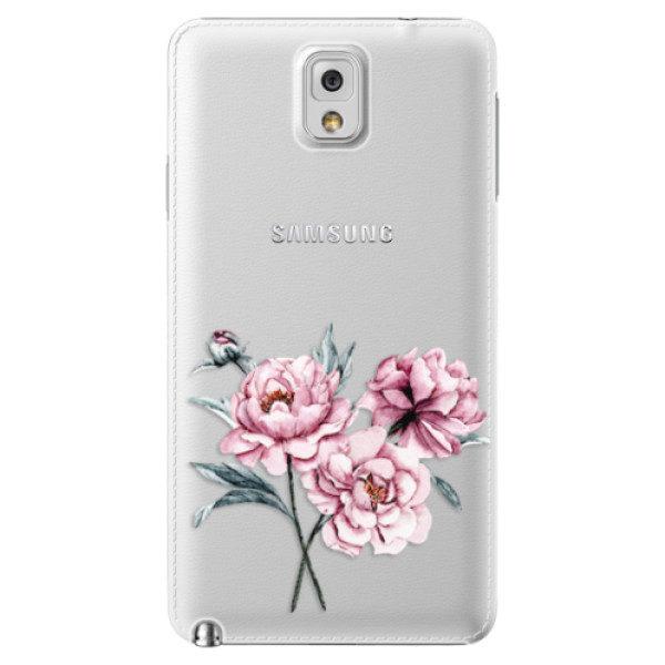 Plastové pouzdro iSaprio – Poeny – Samsung Galaxy Note 3 Plastové pouzdro iSaprio – Poeny – Samsung Galaxy Note 3