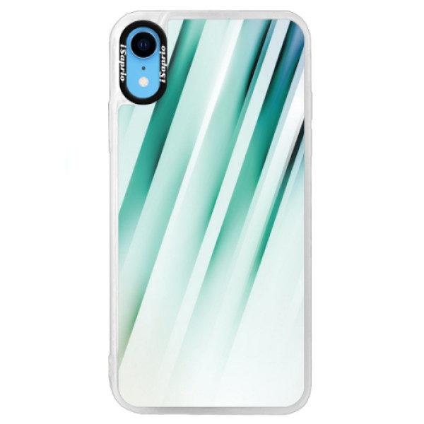 Neonové pouzdro Blue iSaprio – Stripes of Glass – iPhone XR Neonové pouzdro Blue iSaprio – Stripes of Glass – iPhone XR
