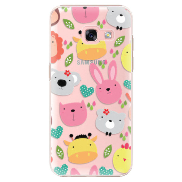Plastové pouzdro iSaprio – Animals 01 – Samsung Galaxy A3 2017 Plastové pouzdro iSaprio – Animals 01 – Samsung Galaxy A3 2017