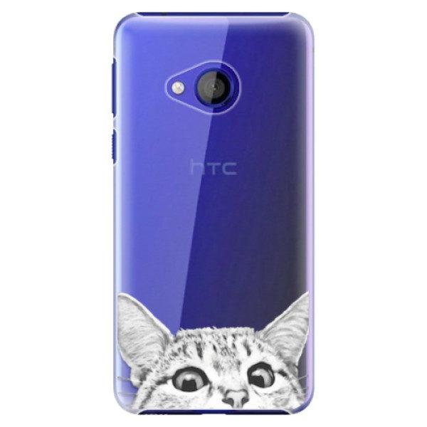 Plastové pouzdro iSaprio – Cat 02 – HTC U Play Plastové pouzdro iSaprio – Cat 02 – HTC U Play