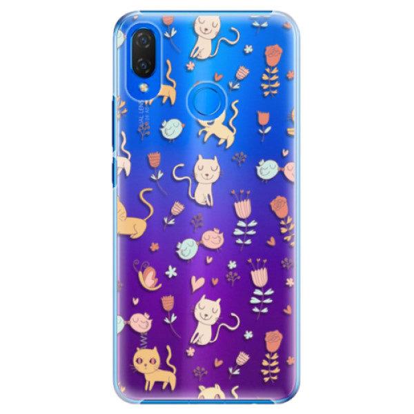 Plastové pouzdro iSaprio – Cat pattern 02 – Huawei Nova 3i Plastové pouzdro iSaprio – Cat pattern 02 – Huawei Nova 3i