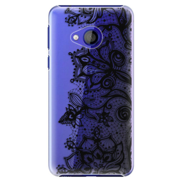 Plastové pouzdro iSaprio – Black Lace – HTC U Play Plastové pouzdro iSaprio – Black Lace – HTC U Play