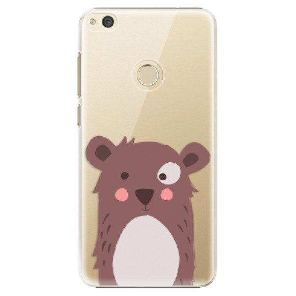 Plastové pouzdro iSaprio – Brown Bear – Huawei P8 Lite 2017 Plastové pouzdro iSaprio – Brown Bear – Huawei P8 Lite 2017