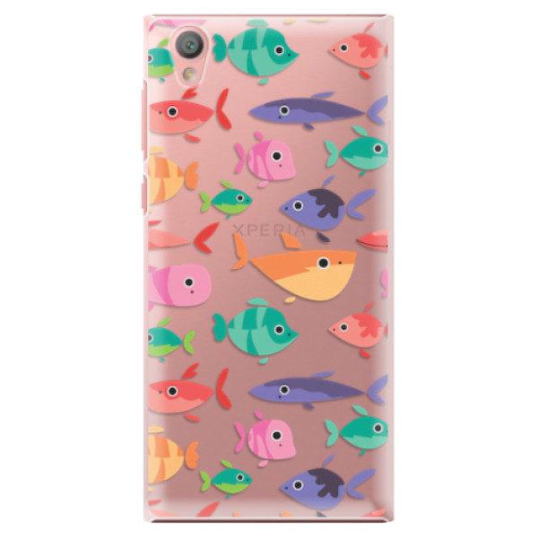 Plastové pouzdro iSaprio – Fish pattern 01 – Sony Xperia L1 Plastové pouzdro iSaprio – Fish pattern 01 – Sony Xperia L1