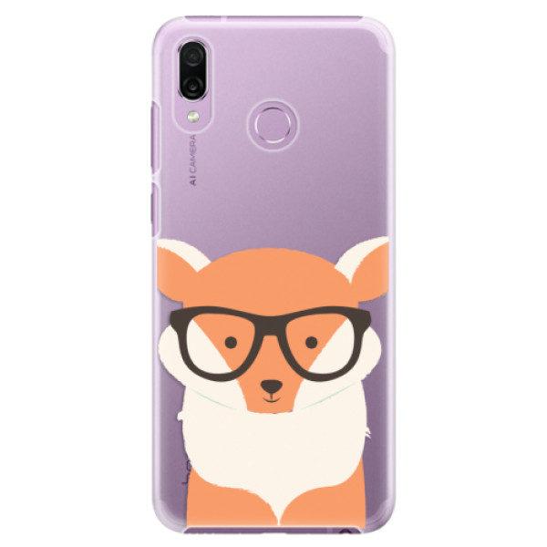 Plastové pouzdro iSaprio – Orange Fox – Huawei Honor Play Plastové pouzdro iSaprio – Orange Fox – Huawei Honor Play