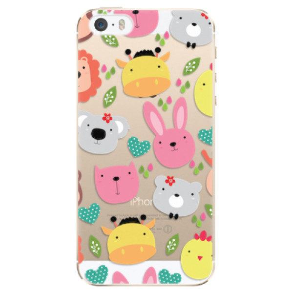 Plastové pouzdro iSaprio – Animals 01 – iPhone 5/5S/SE Plastové pouzdro iSaprio – Animals 01 – iPhone 5/5S/SE