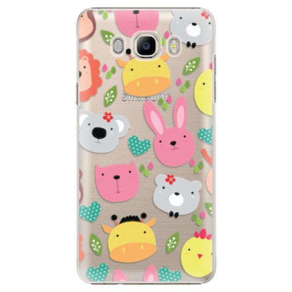 Plastové pouzdro iSaprio – Animals 01 – Samsung Galaxy J7 2016 Plastové pouzdro iSaprio – Animals 01 – Samsung Galaxy J7 2016