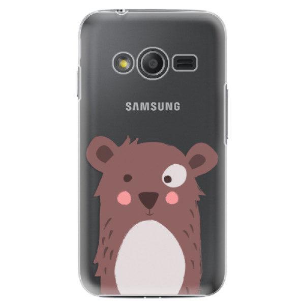 Plastové pouzdro iSaprio – Brown Bear – Samsung Galaxy Trend 2 Lite Plastové pouzdro iSaprio – Brown Bear – Samsung Galaxy Trend 2 Lite