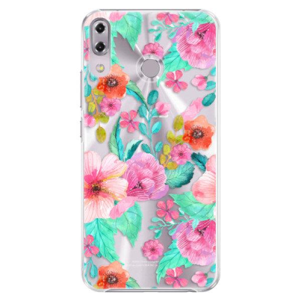 Plastové pouzdro iSaprio – Flower Pattern 01 – Asus ZenFone 5Z ZS620KL Plastové pouzdro iSaprio – Flower Pattern 01 – Asus ZenFone 5Z ZS620KL