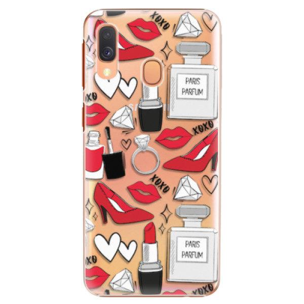 Plastové pouzdro iSaprio – Fashion pattern 03 – Samsung Galaxy A40 Plastové pouzdro iSaprio – Fashion pattern 03 – Samsung Galaxy A40