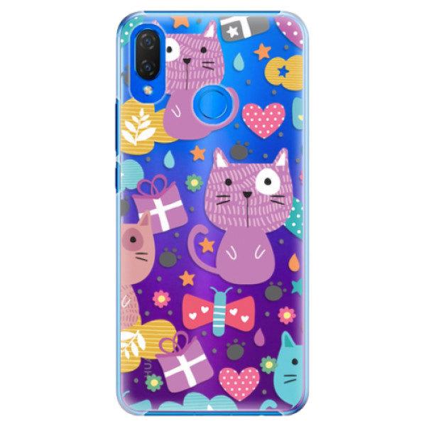 Plastové pouzdro iSaprio – Cat pattern 01 – Huawei Nova 3i Plastové pouzdro iSaprio – Cat pattern 01 – Huawei Nova 3i