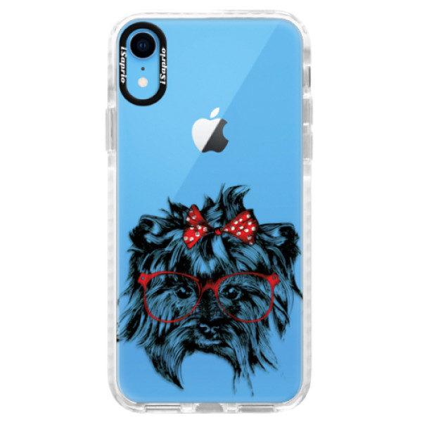 Silikonové pouzdro Bumper iSaprio – Dog 03 – iPhone XR Silikonové pouzdro Bumper iSaprio – Dog 03 – iPhone XR