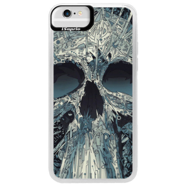 Neonové pouzdro Blue iSaprio – Abstract Skull – iPhone 6/6S Neonové pouzdro Blue iSaprio – Abstract Skull – iPhone 6/6S