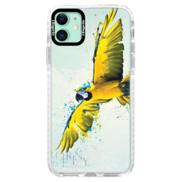 Silikonové pouzdro Bumper iSaprio – Born to Fly – iPhone 11 Silikonové pouzdro Bumper iSaprio – Born to Fly – iPhone 11