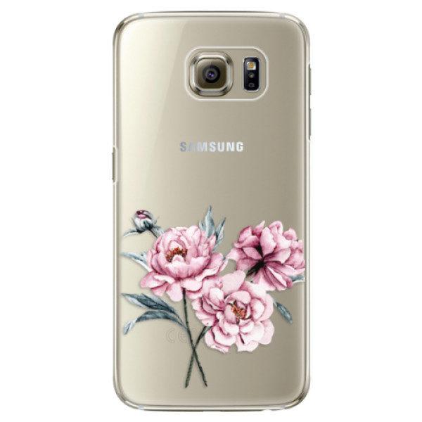 Plastové pouzdro iSaprio – Poeny – Samsung Galaxy S6 Edge Plus Plastové pouzdro iSaprio – Poeny – Samsung Galaxy S6 Edge Plus