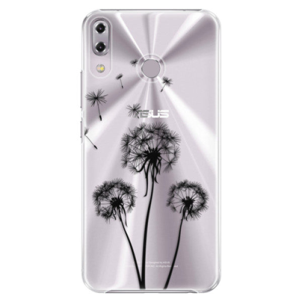 Plastové pouzdro iSaprio – Three Dandelions – black – Asus ZenFone 5Z ZS620KL Plastové pouzdro iSaprio – Three Dandelions – black – Asus ZenFone 5Z ZS620KL