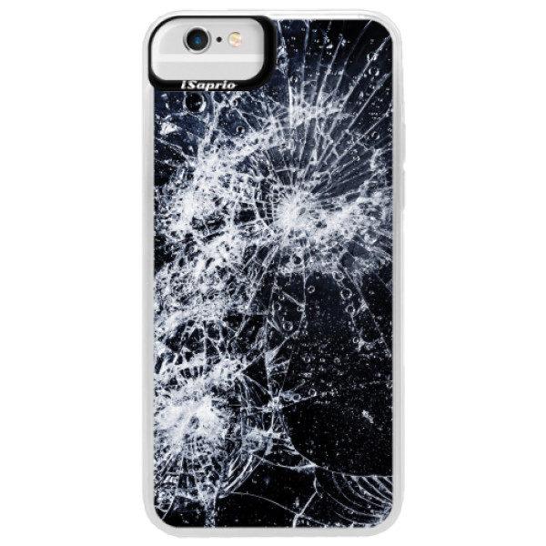 Neonové pouzdro Blue iSaprio – Cracked – iPhone 6 Plus/6S Plus Neonové pouzdro Blue iSaprio – Cracked – iPhone 6 Plus/6S Plus