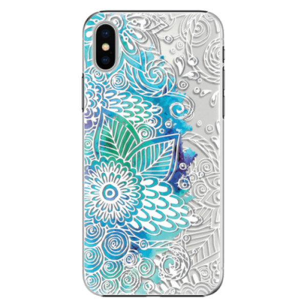 Plastové pouzdro iSaprio – Lace 03 – iPhone X Plastové pouzdro iSaprio – Lace 03 – iPhone X