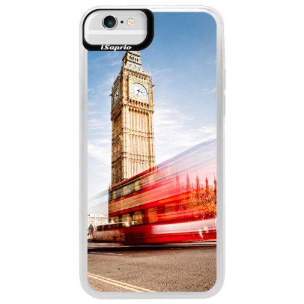 Neonové pouzdro Blue iSaprio – London 01 – iPhone 6/6S Neonové pouzdro Blue iSaprio – London 01 – iPhone 6/6S