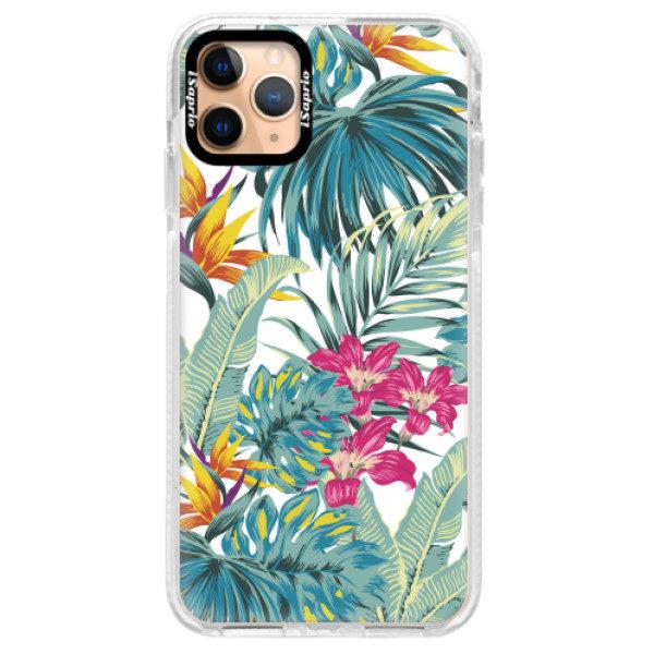 Silikonové pouzdro Bumper iSaprio – Tropical White 03 – iPhone 11 Pro Max Silikonové pouzdro Bumper iSaprio – Tropical White 03 – iPhone 11 Pro Max