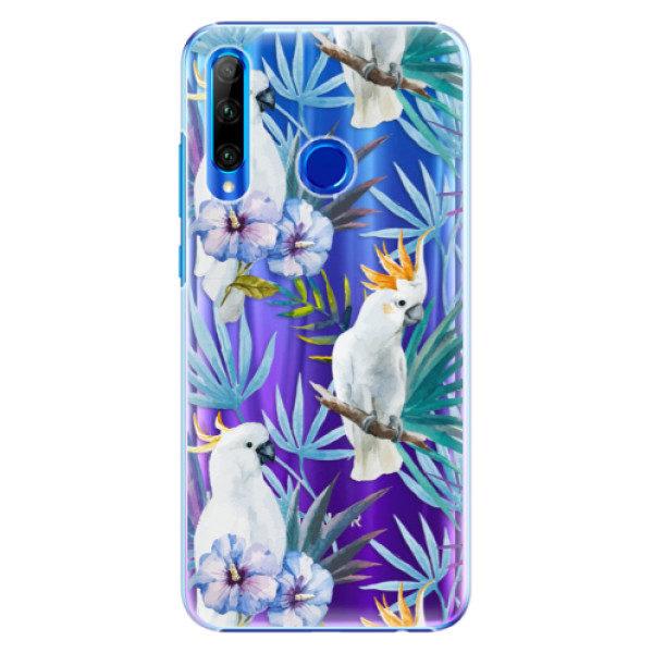 Plastové pouzdro iSaprio – Parrot Pattern 01 – Huawei Honor 20 Lite Plastové pouzdro iSaprio – Parrot Pattern 01 – Huawei Honor 20 Lite