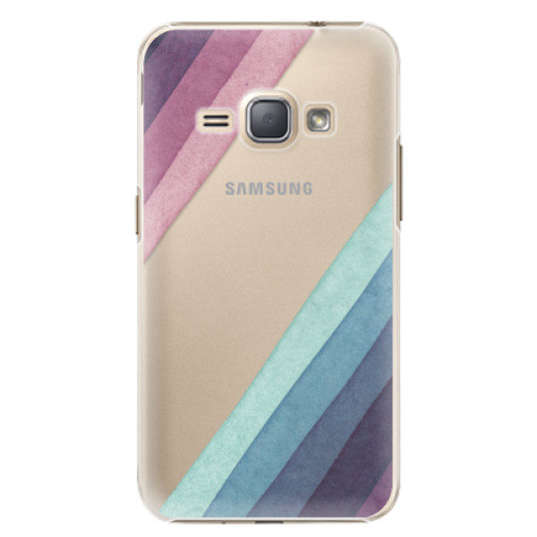 Plastové pouzdro iSaprio – Glitter Stripes 01 – Samsung Galaxy J1 2016 Plastové pouzdro iSaprio – Glitter Stripes 01 – Samsung Galaxy J1 2016