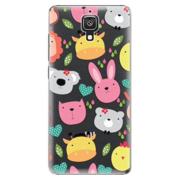 Plastové pouzdro iSaprio – Animals 01 – Xiaomi Mi4 Plastové pouzdro iSaprio – Animals 01 – Xiaomi Mi4