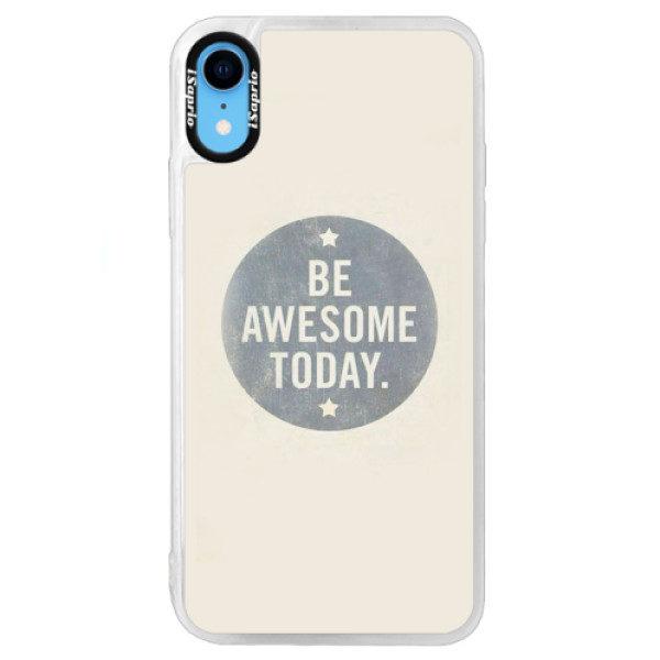 Neonové pouzdro Blue iSaprio – Awesome 02 – iPhone XR Neonové pouzdro Blue iSaprio – Awesome 02 – iPhone XR