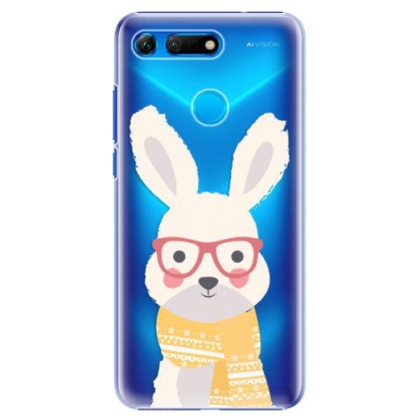 Plastové pouzdro iSaprio – Smart Rabbit – Huawei Honor View 20 Plastové pouzdro iSaprio – Smart Rabbit – Huawei Honor View 20