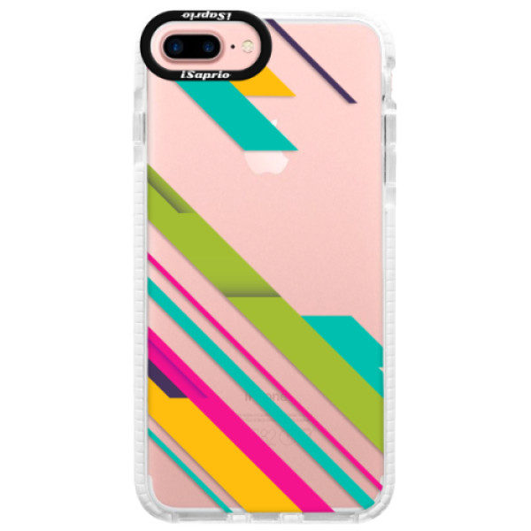 Silikonové pouzdro Bumper iSaprio – Color Stripes 03 – iPhone 7 Plus Silikonové pouzdro Bumper iSaprio – Color Stripes 03 – iPhone 7 Plus