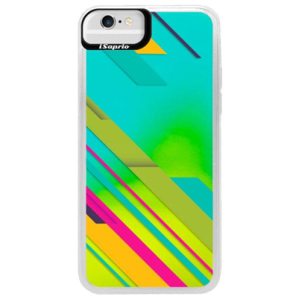 Neonové pouzdro Blue iSaprio – Color Stripes 03 – iPhone 6/6S Neonové pouzdro Blue iSaprio – Color Stripes 03 – iPhone 6/6S