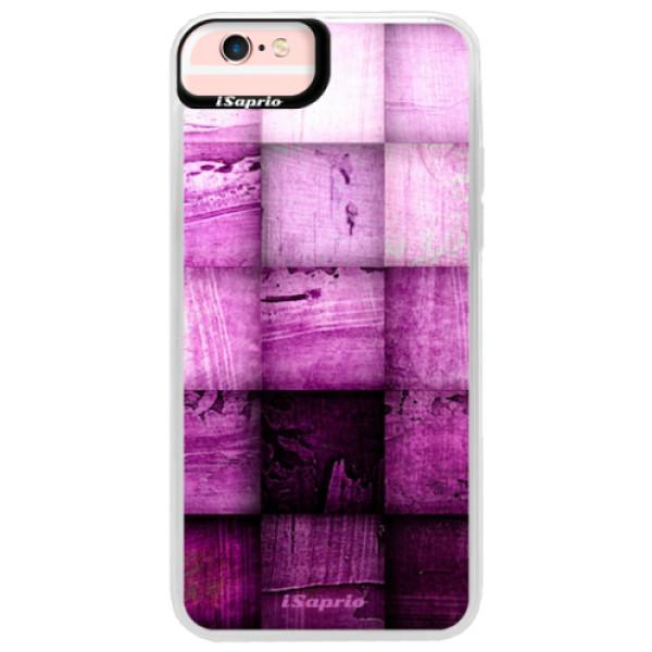 Neonové pouzdro Pink iSaprio – Purple Squares – iPhone 6 Plus/6S Plus Neonové pouzdro Pink iSaprio – Purple Squares – iPhone 6 Plus/6S Plus