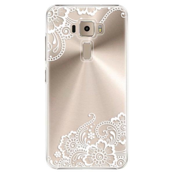 Plastové pouzdro iSaprio – White Lace 02 – Asus ZenFone 3 ZE520KL Plastové pouzdro iSaprio – White Lace 02 – Asus ZenFone 3 ZE520KL