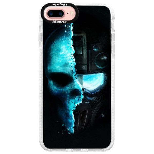 Silikonové pouzdro Bumper iSaprio – Roboskull – iPhone 7 Plus Silikonové pouzdro Bumper iSaprio – Roboskull – iPhone 7 Plus
