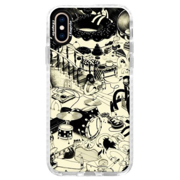 Silikonové pouzdro Bumper iSaprio – Underground – iPhone XS Silikonové pouzdro Bumper iSaprio – Underground – iPhone XS