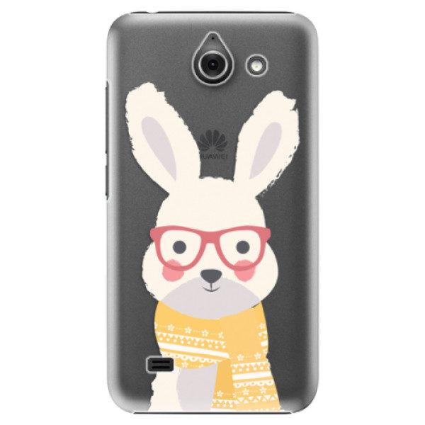 Plastové pouzdro iSaprio – Smart Rabbit – Huawei Ascend Y550 Plastové pouzdro iSaprio – Smart Rabbit – Huawei Ascend Y550