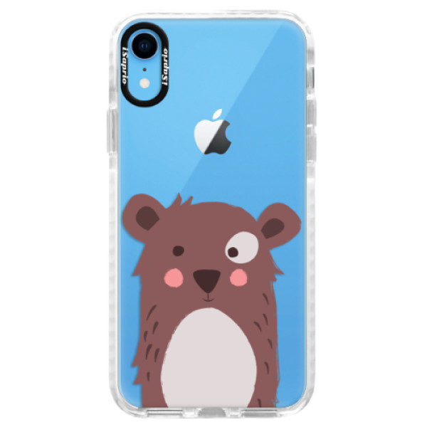 Silikonové pouzdro Bumper iSaprio – Brown Bear – iPhone XR Silikonové pouzdro Bumper iSaprio – Brown Bear – iPhone XR