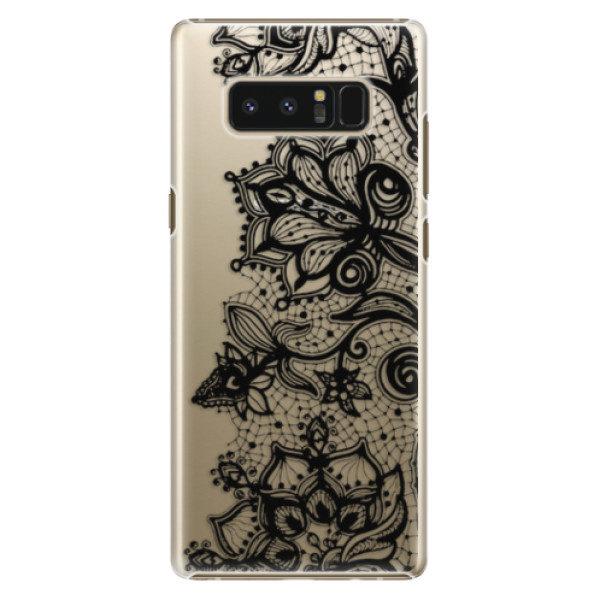 Plastové pouzdro iSaprio – Black Lace – Samsung Galaxy Note 8 Plastové pouzdro iSaprio – Black Lace – Samsung Galaxy Note 8