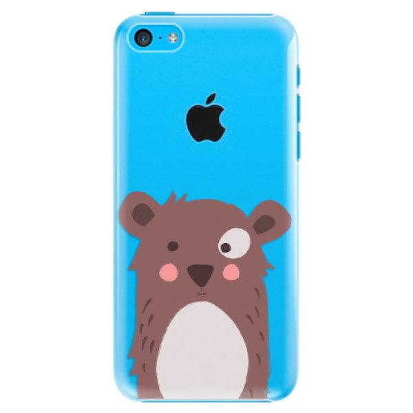 Plastové pouzdro iSaprio – Brown Bear – iPhone 5C Plastové pouzdro iSaprio – Brown Bear – iPhone 5C