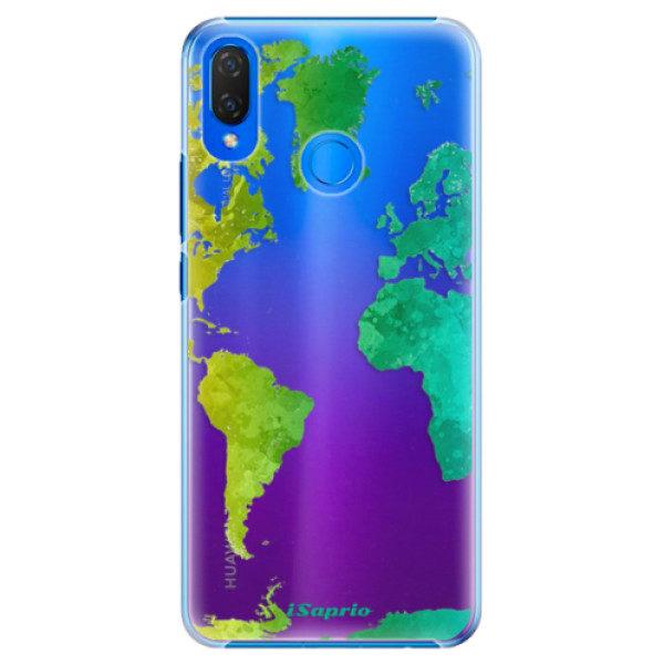 Plastové pouzdro iSaprio – Cold Map – Huawei Nova 3i Plastové pouzdro iSaprio – Cold Map – Huawei Nova 3i