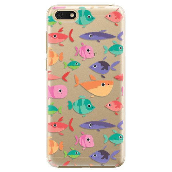 Plastové pouzdro iSaprio – Fish pattern 01 – Huawei Honor 7S Plastové pouzdro iSaprio – Fish pattern 01 – Huawei Honor 7S