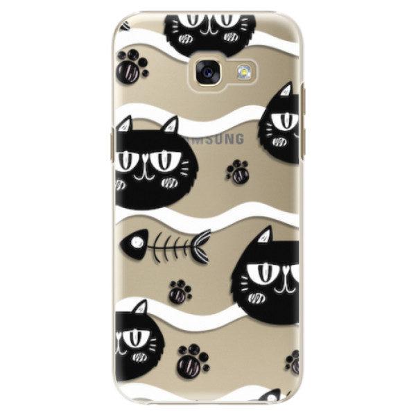 Plastové pouzdro iSaprio – Cat pattern 04 – Samsung Galaxy A5 2017 Plastové pouzdro iSaprio – Cat pattern 04 – Samsung Galaxy A5 2017