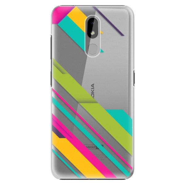 Plastové pouzdro iSaprio – Color Stripes 03 – Nokia 3.2 Plastové pouzdro iSaprio – Color Stripes 03 – Nokia 3.2