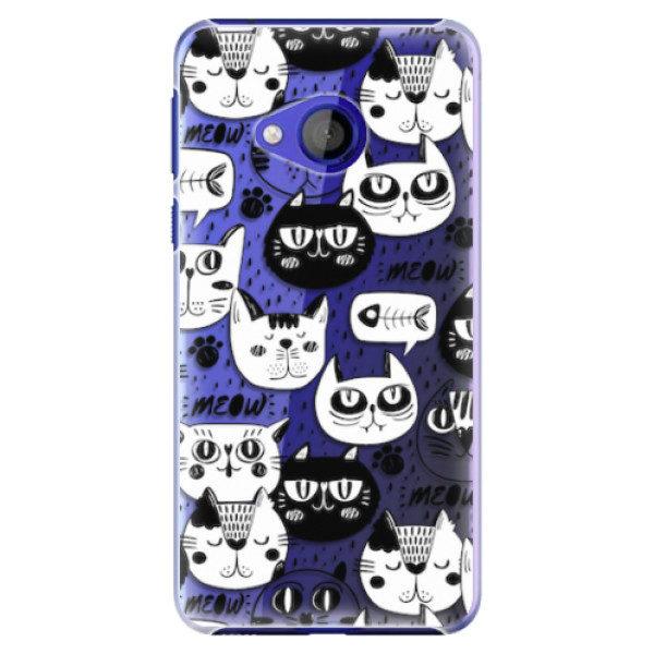 Plastové pouzdro iSaprio – Cat pattern 03 – HTC U Play Plastové pouzdro iSaprio – Cat pattern 03 – HTC U Play