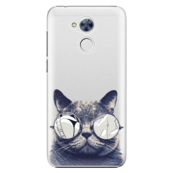 Plastové pouzdro iSaprio – Crazy Cat 01 – Huawei Honor 6A Plastové pouzdro iSaprio – Crazy Cat 01 – Huawei Honor 6A