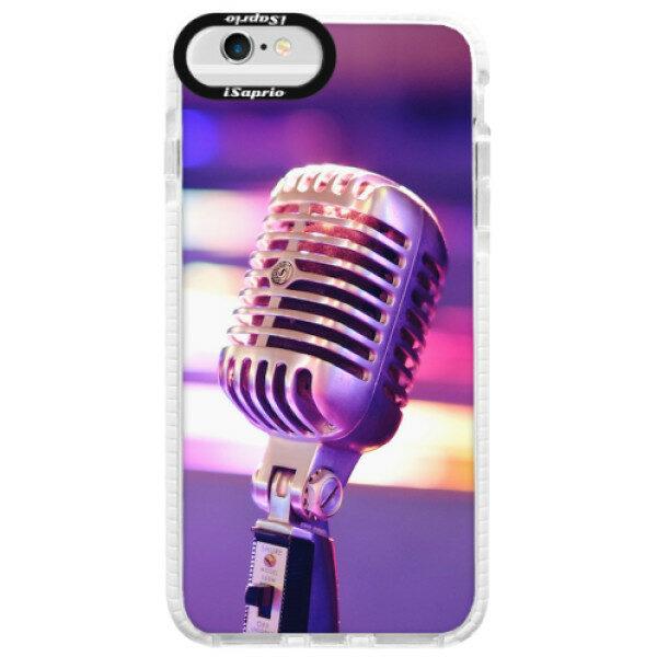 Silikonové pouzdro Bumper iSaprio – Vintage Microphone – iPhone 6/6S Silikonové pouzdro Bumper iSaprio – Vintage Microphone – iPhone 6/6S