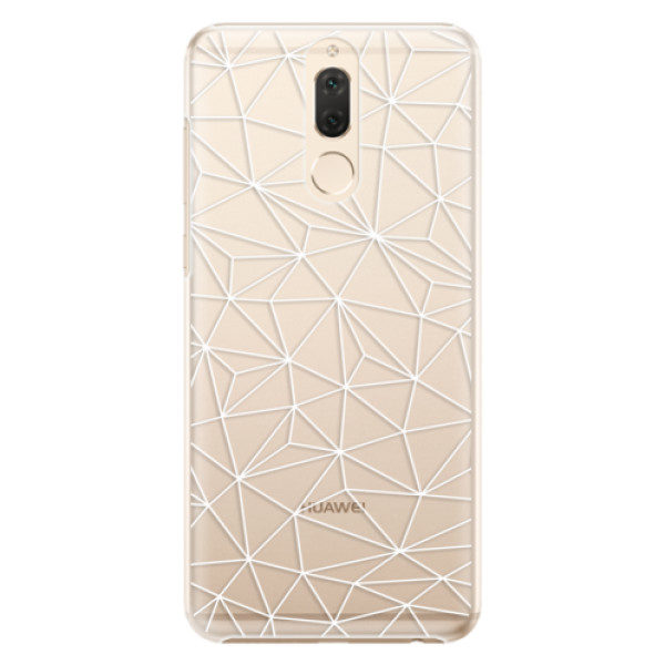Plastové pouzdro iSaprio – Abstract Triangles 03 – white – Huawei Mate 10 Lite Plastové pouzdro iSaprio – Abstract Triangles 03 – white – Huawei Mate 10 Lite